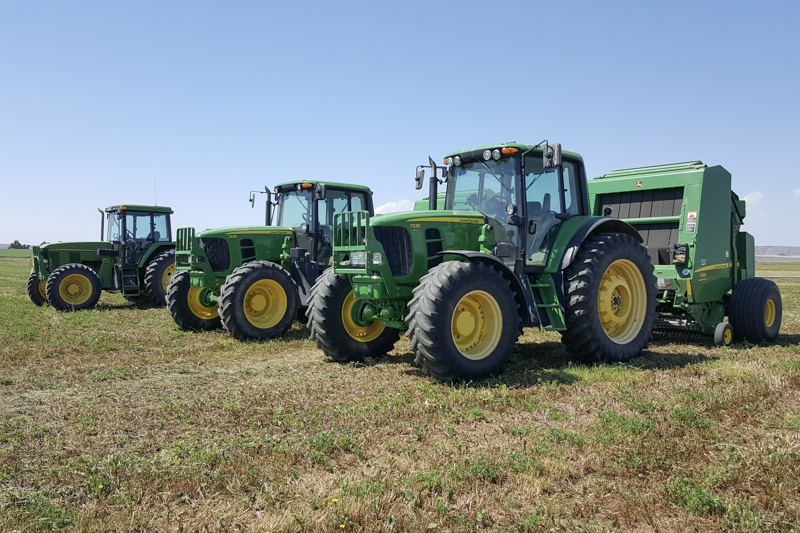 Services - Hay Hauling and Custom Baling